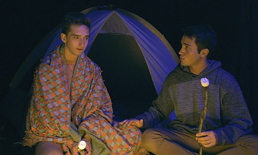 A BrotherCrush Halloween: By The Campfire